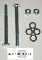 Leaf Spring Front Bolt Set  - Mk2 Escort